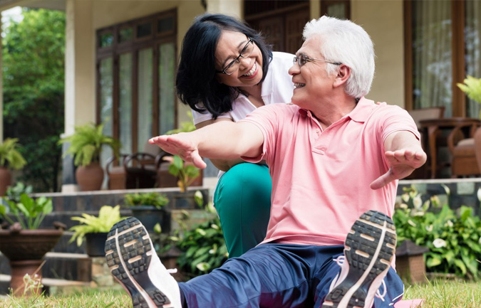 Balanced Gut Bacteria Supports Health Of The Elderly
