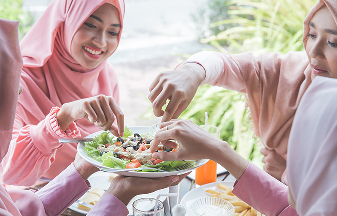Eating out Doesn't Have to Take a Toll on Your Body